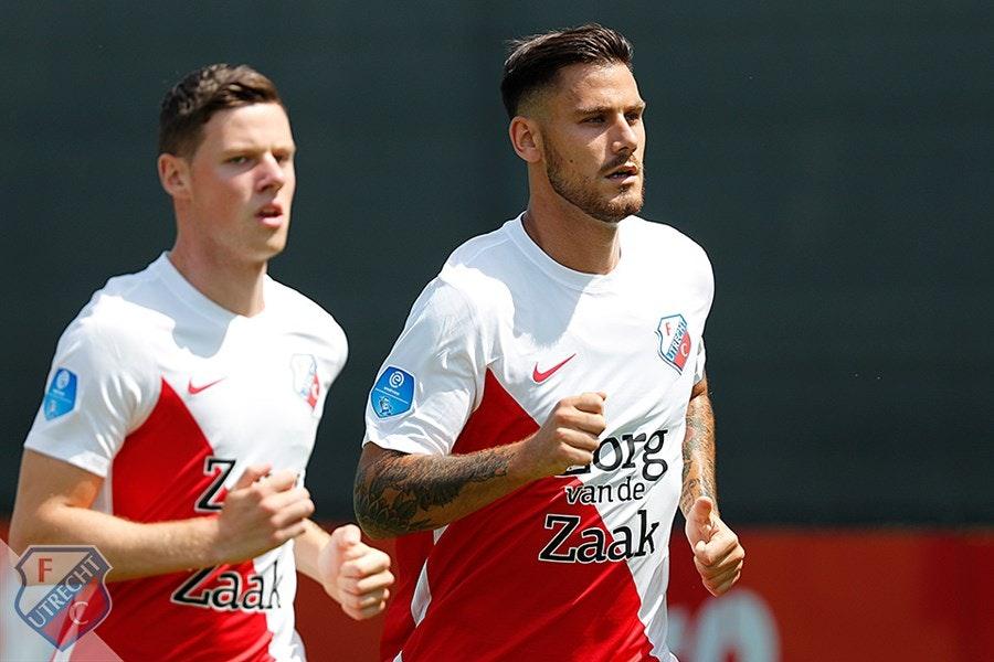 Verdediger Dumic op weg naar uitgang bij FC Utrecht