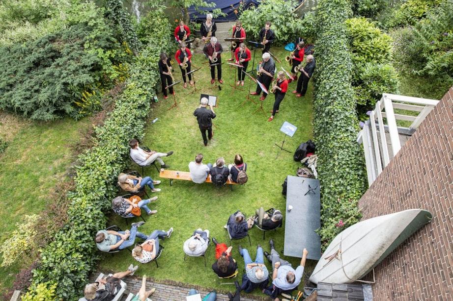 Optredens in Utrechtse tuinen: Struinen in de Tuinen gaat door
