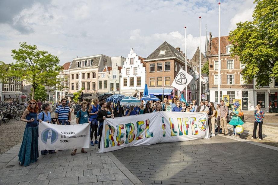Utrecht is zaterdag het toneel van de klimaatmars