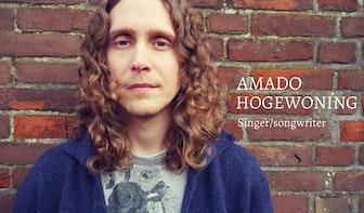 Dagtip: Gratis optreden van singer-songwriter Amado bij Staffhorst Vinyl