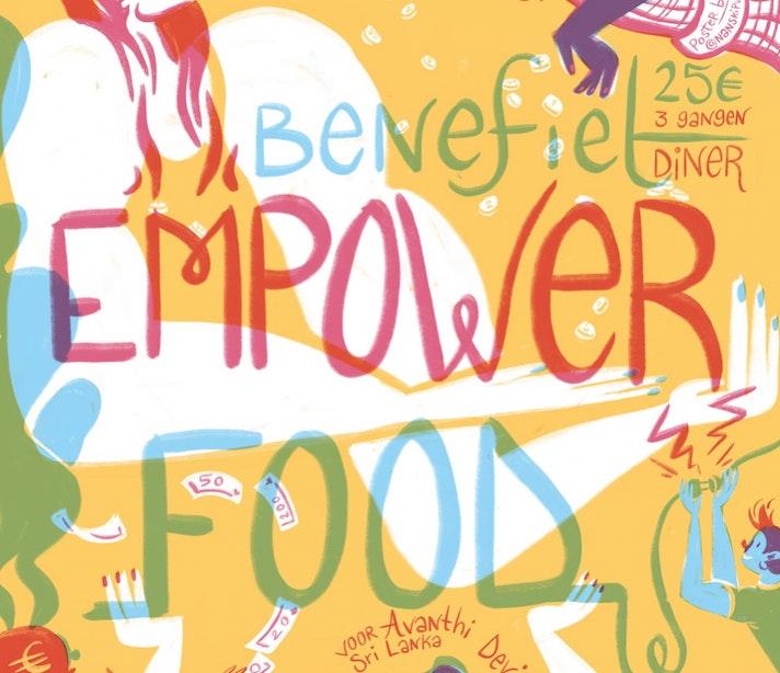 Dagtip: Benefietdiner EmpowerFood bij Koffie Leute