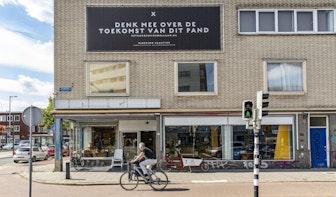 Kringloopwinkel in voormalig pand Scheer & Foppen Vondellaan