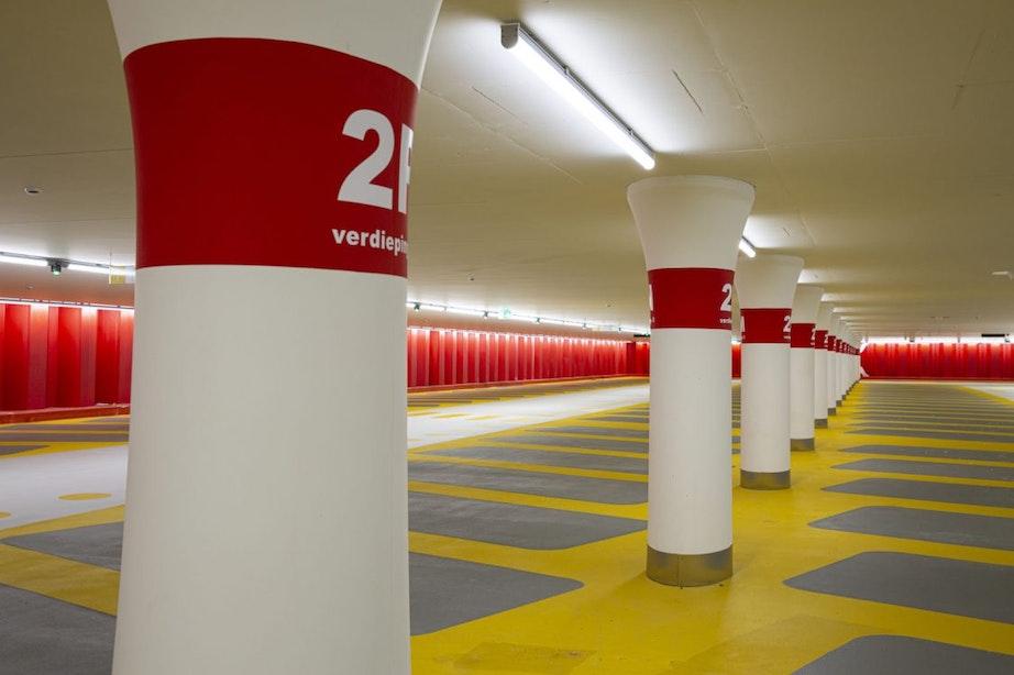 Parkeergarage Croeselaan weer open voor auto's