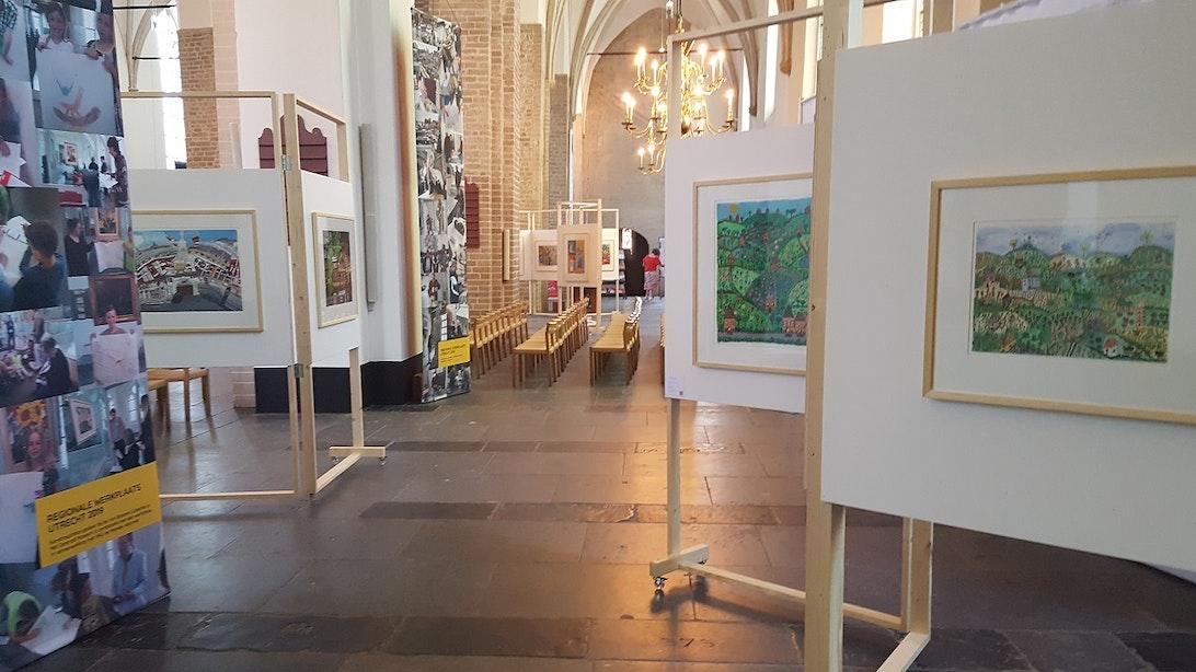 Kunst horen, zien en proeven in Nicolaïkerk
