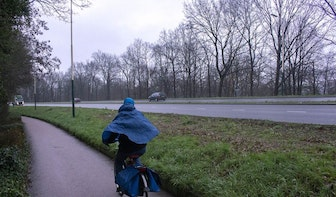 Toch weer vangrails langs de Waterlinieweg