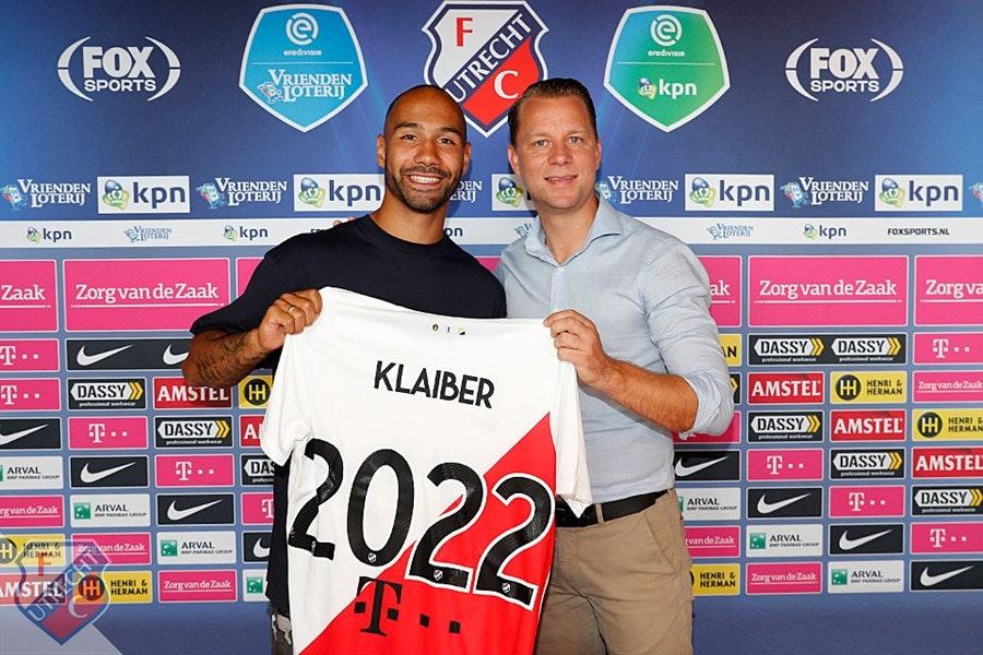 Ook Klaiber verlengt contract met FC Utrecht