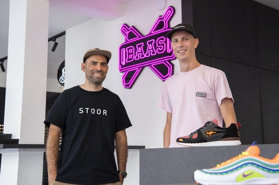 Utrechtse ondernemers Farid en Duco scoren met sneakers: 'Meer dan alleen schoenen'