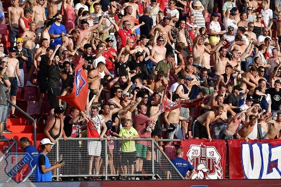 Seizoenkaarthouders FC Utrecht mogen zondag gratis iemand meenemen