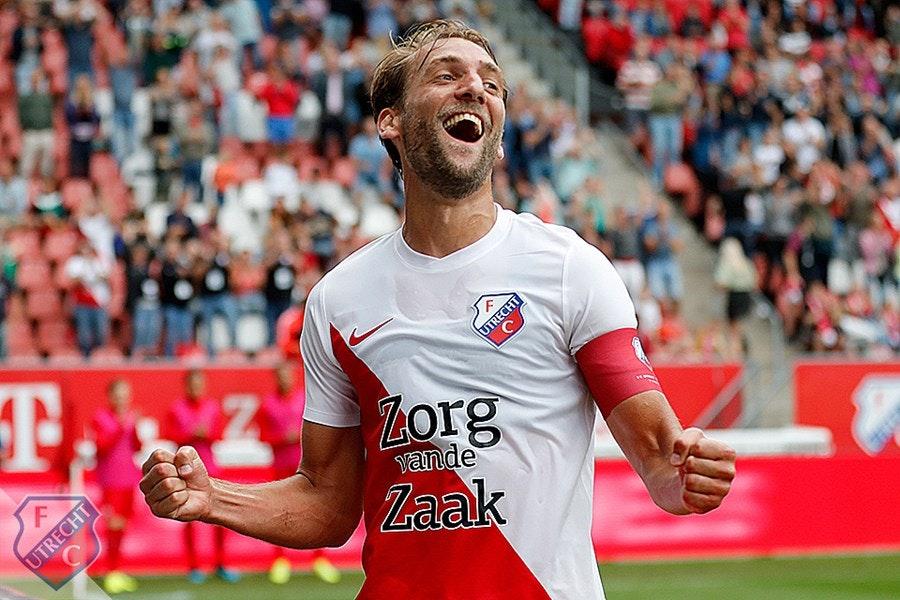 Deelnemers FCU Pool dichten VVV-Venlo vanmiddag weinig kans toe tegen FC Utrecht