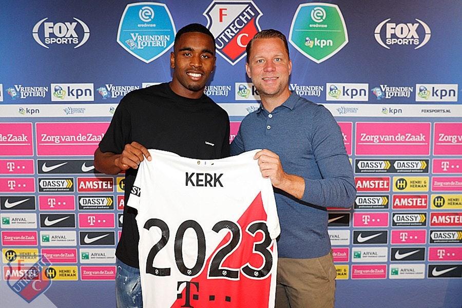 Gewilde Gyrano Kerk verlengt contract met FC Utrecht
