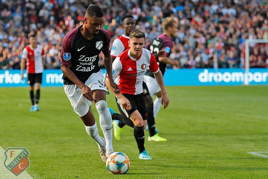 FC Utrecht baalt van punt in De Kuip