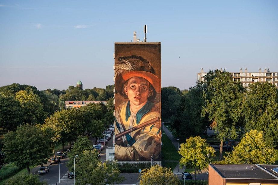 Immense muurschildering is slotstuk in serie van Utrechtse meesters