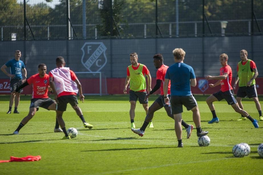 Van den Brom krijgt steeds meer mogelijkheden met FC Utrecht