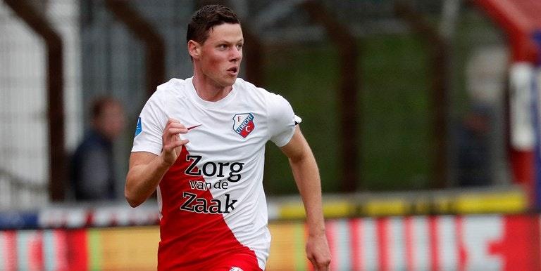 FC Utrecht verhuurt Nick Venema aan Almere City FC