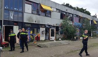 Kraakpanden in Oog in Al ontruimd door politie