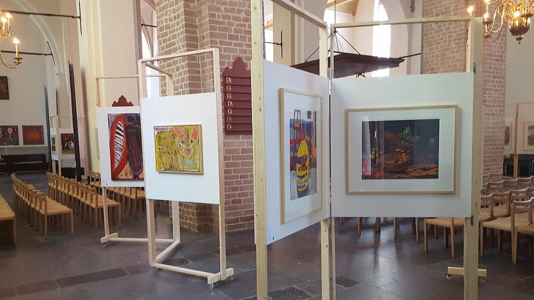 Kunstpreek, kunstfilm en kunstlezing in de Nicolaïkerk
