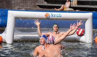 Een gloednieuwe sport uit Utrechtse koker: Beachwaterpolo