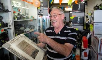 Thomas Willemse sluit na vijftig jaar voorgoed de deuren van zijn Foto Film Office