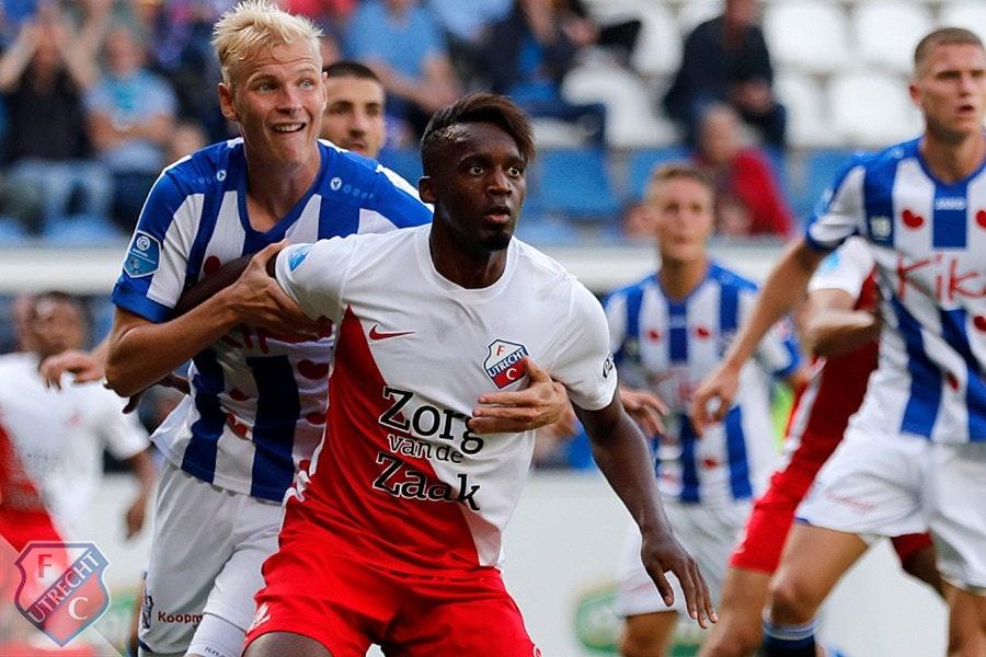 FC Utrecht dankt doelman Maarten Paes voor punt in Heerenveen