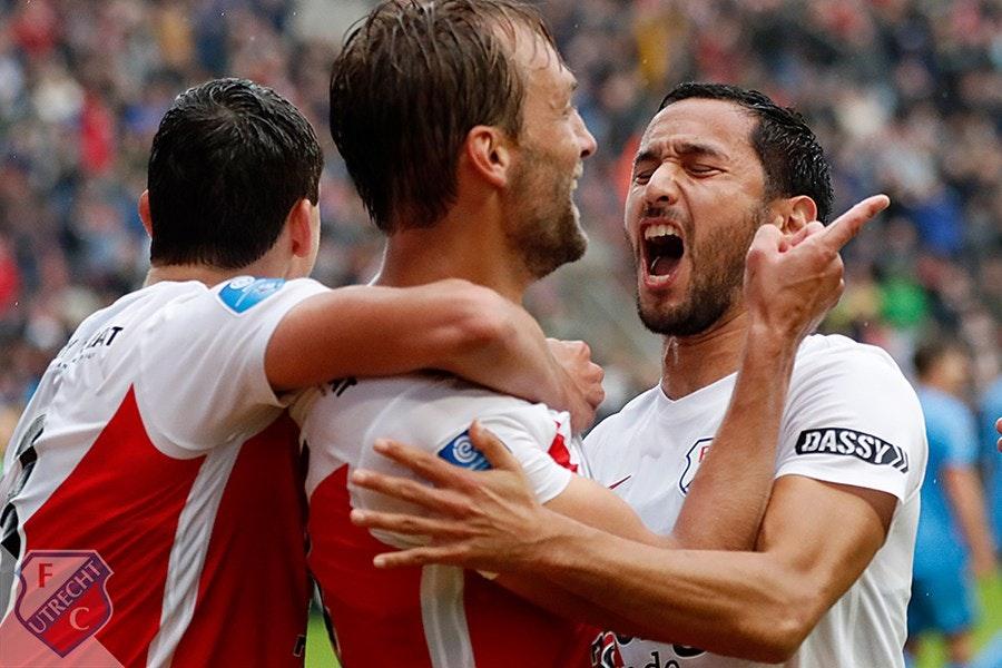 Tien man FC Utrecht tonen wilskracht en verslaan Willem II