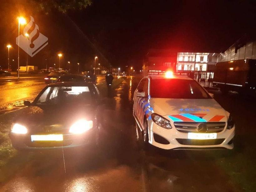 Automobilist onder invloed van lachgas vlucht voor politie