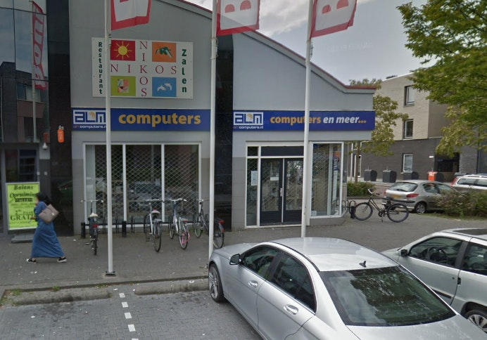 Ramkraak bij computerwinkel in Zuilen