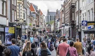 Waar kan je straks rustig wandelen of winkelen in Utrecht? Online drukte-kaart in ontwikkeling
