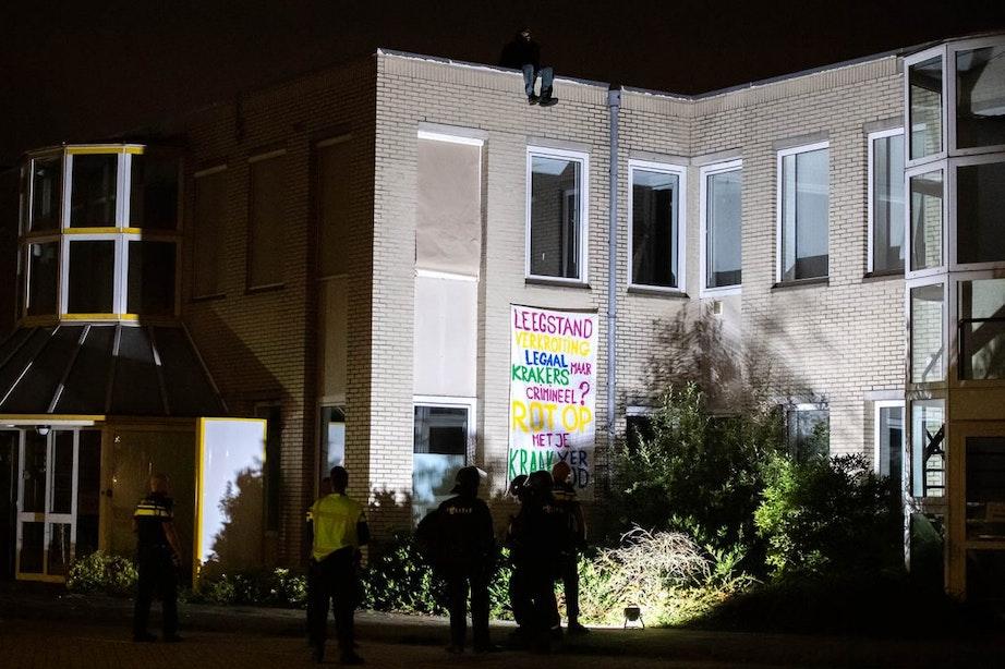 Vier arrestaties bij ontruiming kraakpand in Utrecht