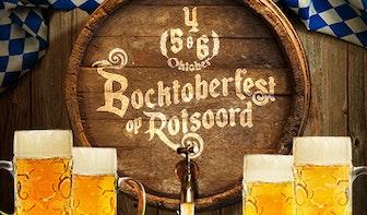 Rotsoord omgetoverd tot bierhalle tijdens Bocktoberfest