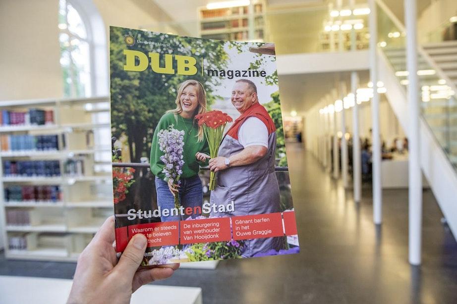 Universiteitsblad DUB bestaat vijftig jaar