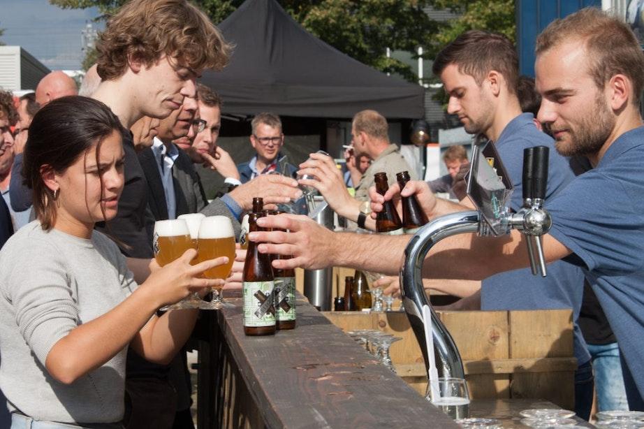 Brouwerij De Leckere ontwikkelt nieuw bier bij officiële opening Werkspoorfabriek