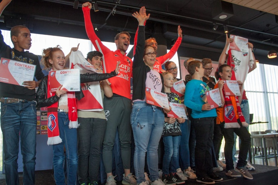 FC Utrecht contracteert G-Voetbalteam