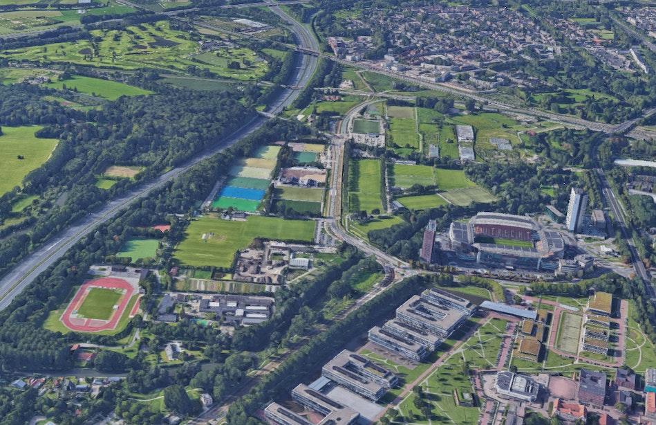 Moet Maarschalkerweerd een sportcampus worden met ruimte voor woningen?