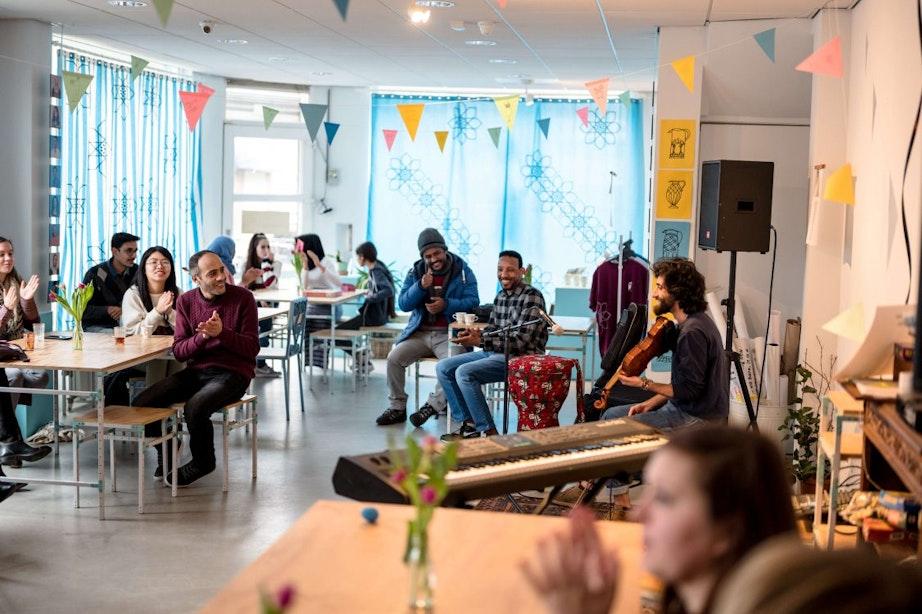 Dagtip: Nederlands Taalcafé bij De Voorkamer