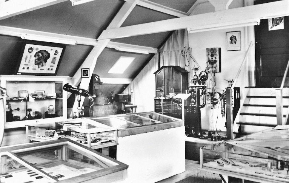 Verdwenen musea: Tandheelkundig Museum aan de Jutfaseweg