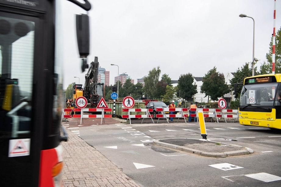 Nelson Mandelabrug in Utrecht dit weekend weer afgesloten voor verkeer
