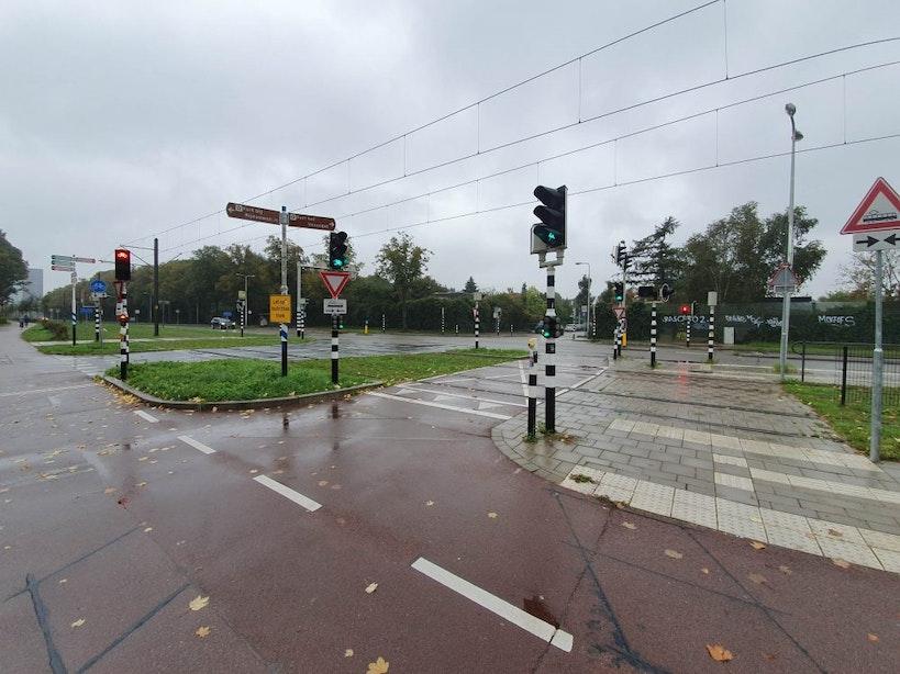 Fietsroute Cicerolaan lijkt van de baan; Extra fietspad Weg tot de Wetenschap