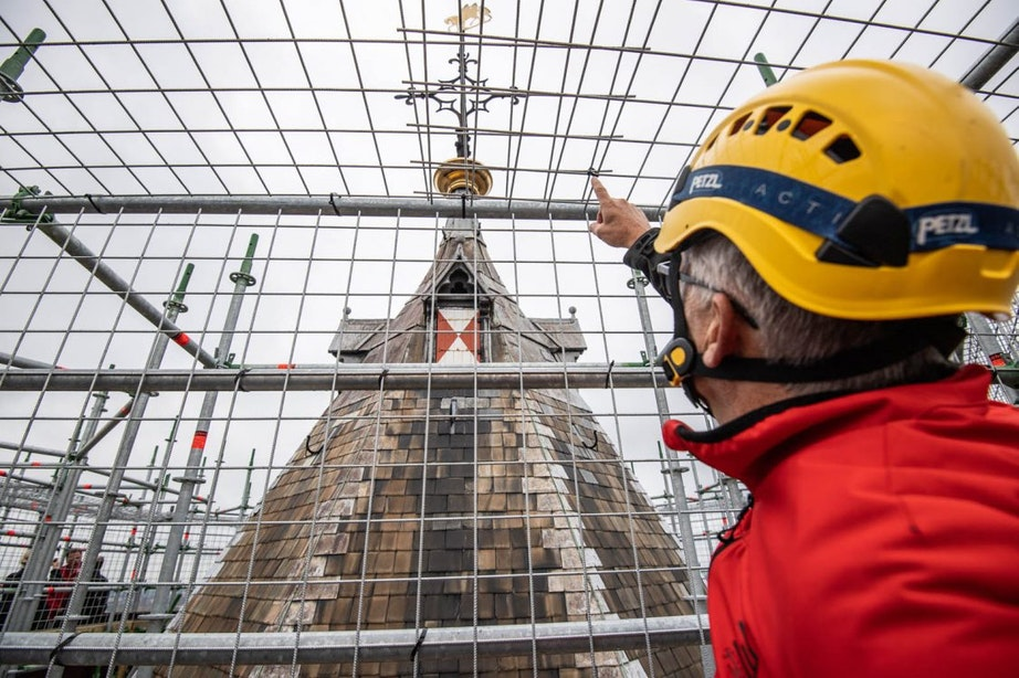 Bezoekers kunnen vanaf volgend jaar met lift op de Domtoren