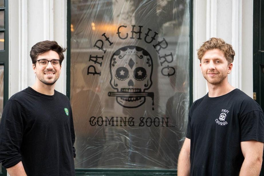 Twee vrienden uit Londen openen Papi Churro aan Stadhuisplein in Utrecht