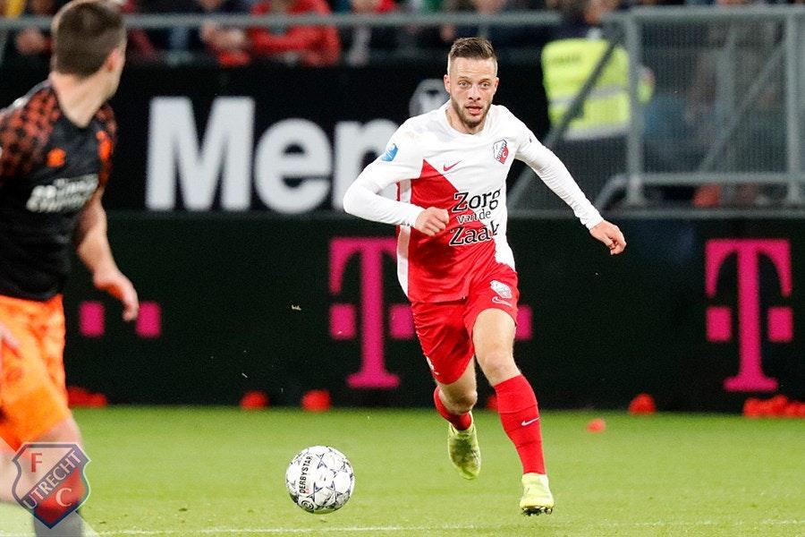 FC Utrecht traint nog zonder geblesseerden Ramselaar en Gustafson