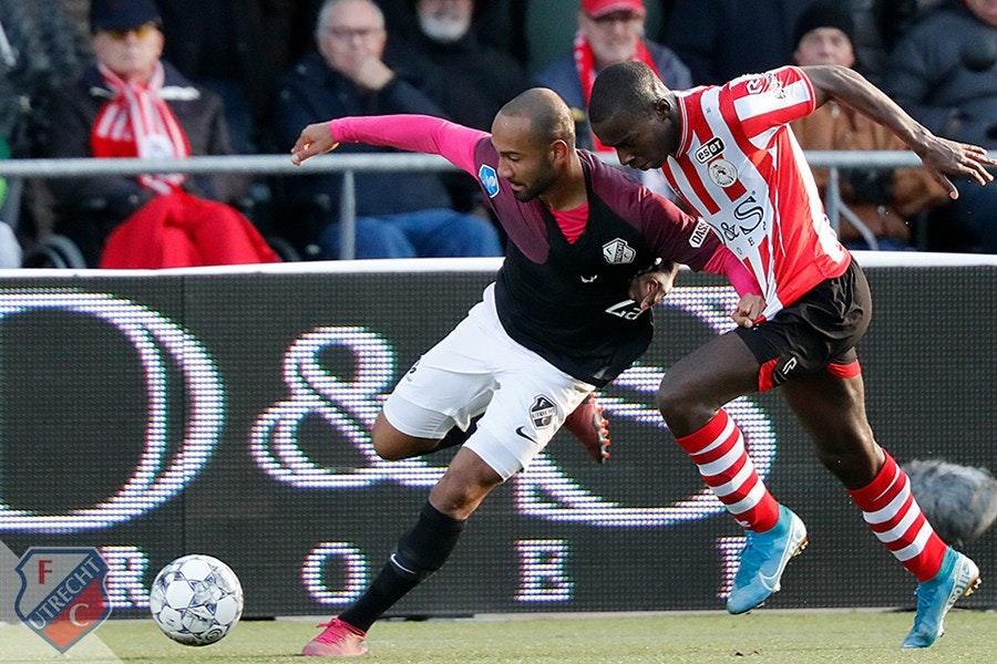 FC Utrecht boekt zwaarbevochten uitzege bij Sparta en klimt naar plek vijf