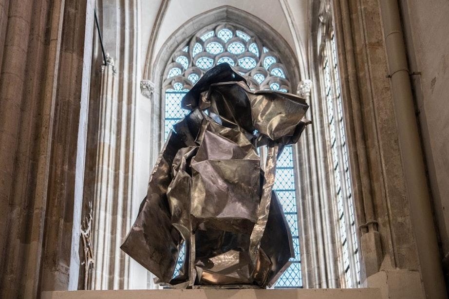 Domkerk wil kunstwerk niet hebben: kunstenaar moet het voor kerst verwijderen