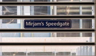 Wat is Mirjam's Speedgate op station Utrecht Centraal?
