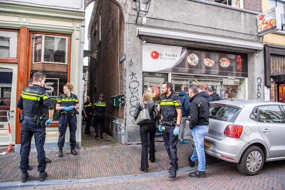 Niks strafbaars gevonden tijdens politie-inval bij Mr. Sushi Express in de Twijnstraat