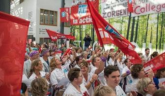 Utrechtse ziekenhuizen schrappen behandelingen door grote staking