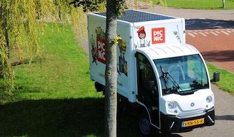 Picnic legt zonnepanelen op bezorgwagentje in Utrecht