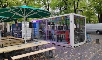 Studenten blazen glazen huis nieuw leven in op Janskerkhof