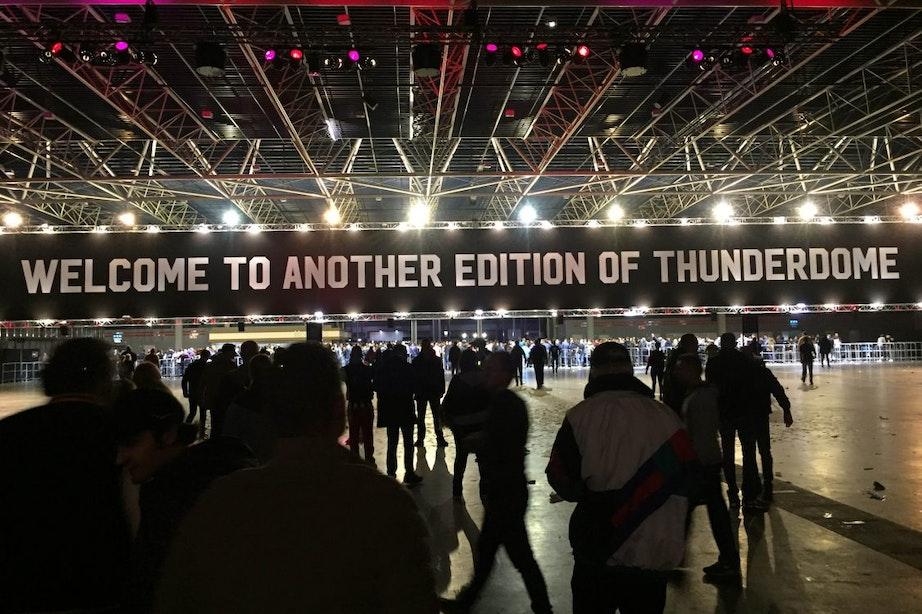 Tienduizenden gabbers naar Utrecht voor Thunderdome
