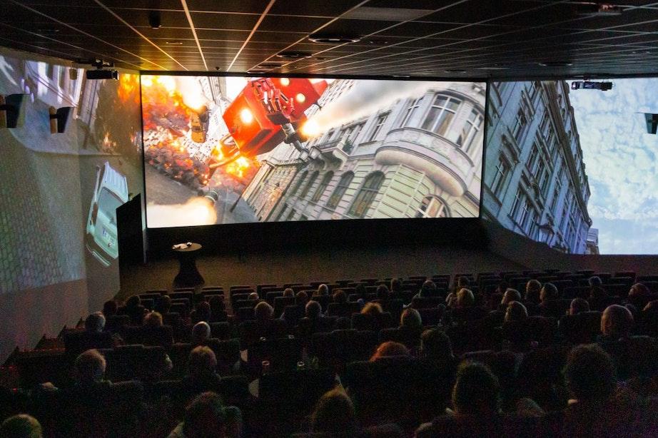 Beleef nu ScreenX in Kinepolis Utrecht