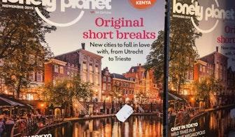 Utrecht op de voorpagina van Engels tijdschrift Lonely Planet